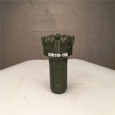 China Concave Face DTH Drill Bit , Water Well Drill Bits Down The Hole CIR110 110mm supplier